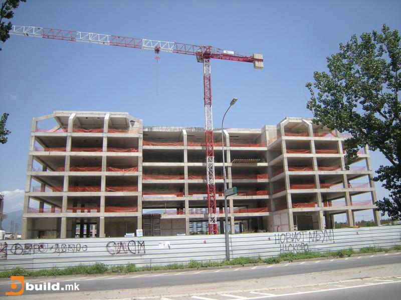 Доцни изградбата на хотел од ланецот  Хилтон  во скопски Аеродорм