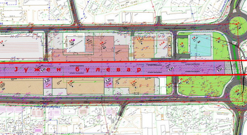 Нови измени и дополнувања на проектот за Јужниот булевар
