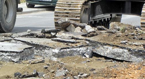 Во Маџир Маало постепено се гради нова инфраструктура