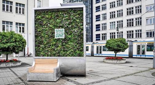 Скопје и Тетово ќе добијат  зелени  билборди за прочистување на воздухот