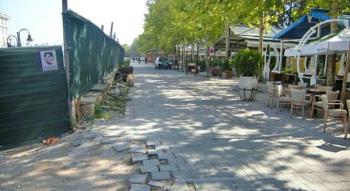 Општина Центар ја сопре изградбата на улица на кејот кај ГТЦ