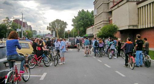 НаТочак  ќе вози за велосипедски патеки без автомобили