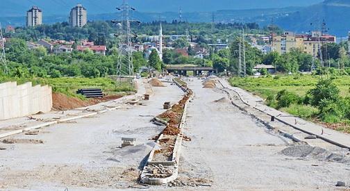 ФОТО ВЕСТ  Доцни изградбата на булеварот Х Т  Карпош кон скопската обиколница