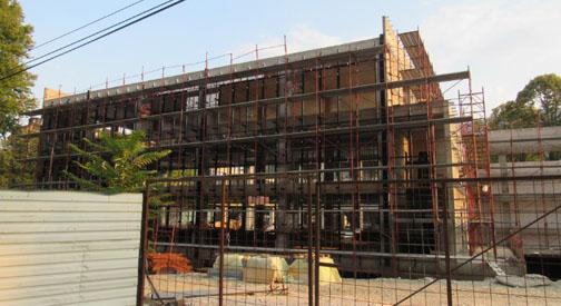 ФОТО ВЕСТ  Забрзано се гради новото основно училиште во Капиштец