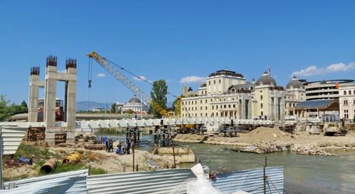 Град Скопје по секоја цена сака да ја продолжи изградбата на Панорамското тркало