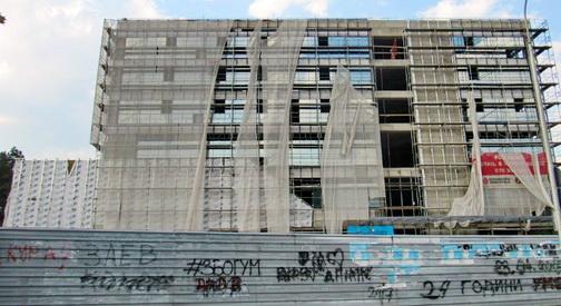 Ѓорче Петров четири години ја чека новата општинска зграда