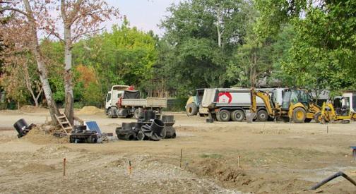 ФОТО ВЕСТ  Се изведува инфраструктурата за новиот Луна парк во Скопје