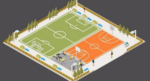 Се реконструира игралиштето кај салата  Партизан  во Центар