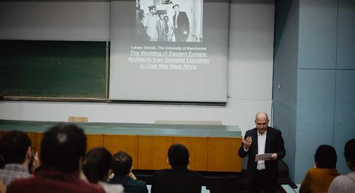 Лукаш Станек одржа предавање на Архитектонскиот факултет