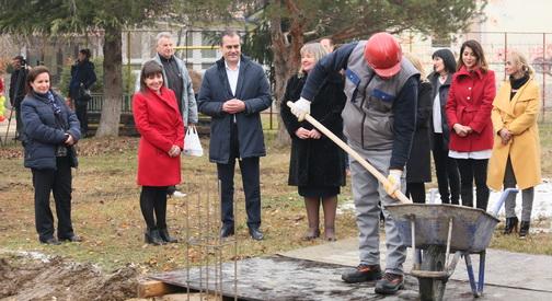 Почна изградба на нова градинка во населбата Ново Лисиче